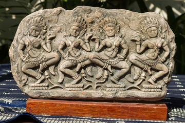Apsara souvenir replica of Angkor Wat.