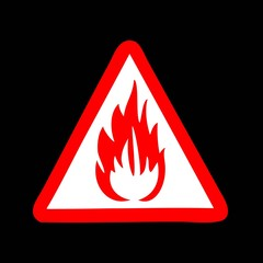 Flammable. sign