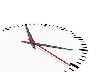 Clock background, vector