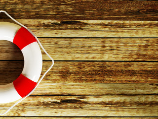 a lifebuoy on a  background