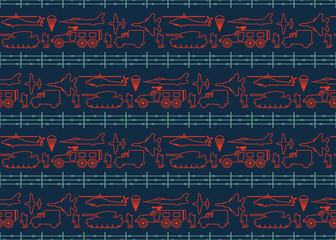 seamless military pattern 12