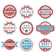 Quality product - vector stamps