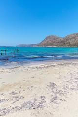 Gramvousa, island Crete, Greece. Balos beach.