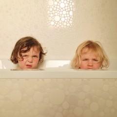 enfants salle de Bain