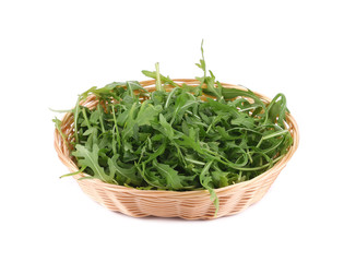 Fresh arugula salad.