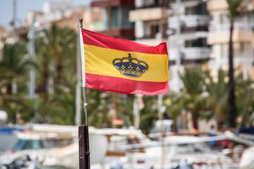 Schiff unter Spanischer Flagge