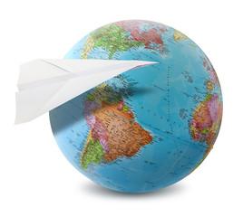 paper plane world
