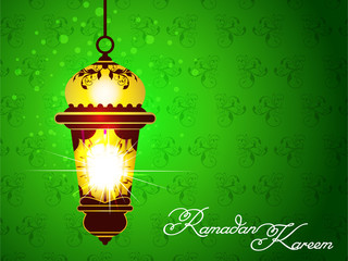 Green Ramadan Background