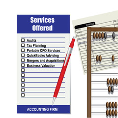 Accounting firm list of services