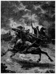 Mongols or Huns : Attacking
