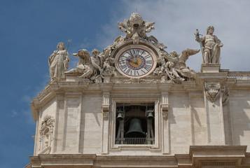 Detailansicht des Petersdomes, Vatikan