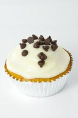 White Choc Cupcake