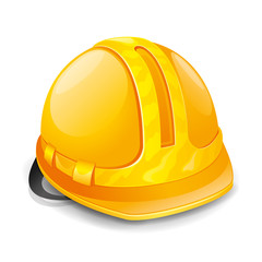 Vector illustration. Hardhat.