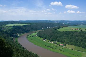 Elbsandsteingebirge, Sachsen, Deutschland