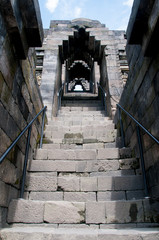 Staircase in Borobudur