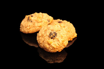 Applesauce Raisin Walnut Cookies