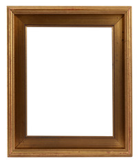 Plain wooden retro frame