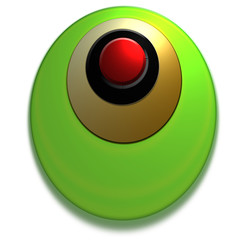 bouton web vert or rouge