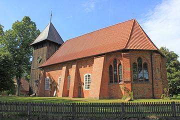 Müden/Örtze: St. Laurentiuskirche (Niedersachsen)