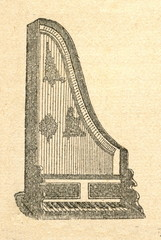 Clavicytherium (upright harpsichord)