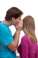 Whispering boy