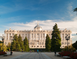 Royal Palace Madrid, Sabatini garden