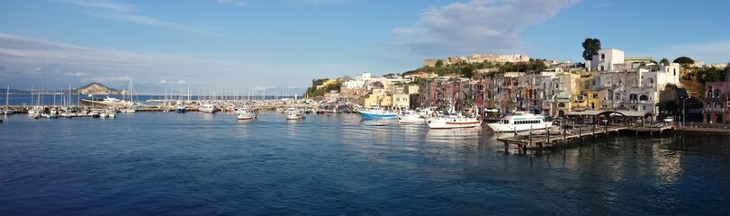 Getting to Procida