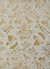 Flower lace pattern.