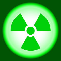 Nuclear sign, peaceful atom