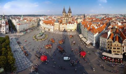 Old Town panorama, Prague