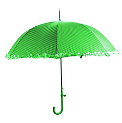 Color umbrella, isolated on white