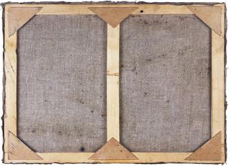Pine oil canvas frame