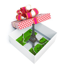 Paris  in  gift box