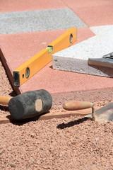 Werkzeug im Hochformat