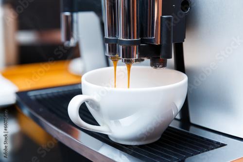 Papiers peints Salle de cafe Espresso maker