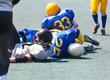 knocked down athletes
