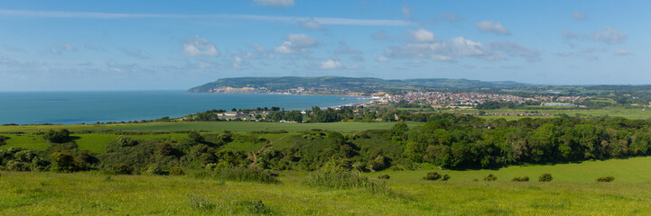 Panorama Shanklin and Sandown Isel of Wight