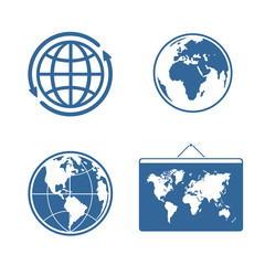 Set of symbols Planet