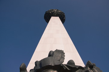 Obelisk, Revolution square,Bucharest,Romania