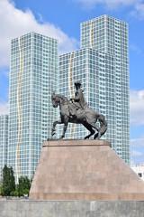 Monument to KENESARY KHAN in Astana / Kazakhstan
