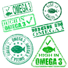Omega Three Stamps
