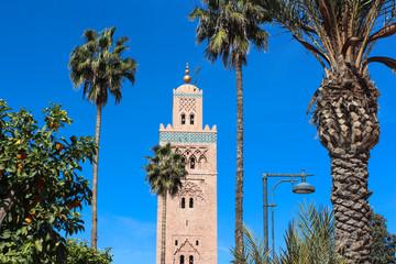 Marrakesch Koutoubia Minarett