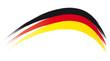 Deutschland - Flagge - Bogen