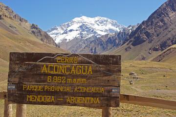 NP Aconcagua, Anden, Mendozza, Argentinien