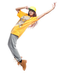 girl hip-hop dancer