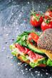 Healthy sandwich making - 66021881