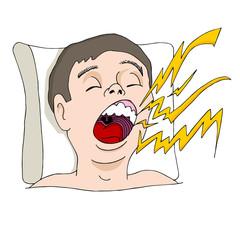 Loud Snoring Man