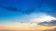 Sky on twilight time