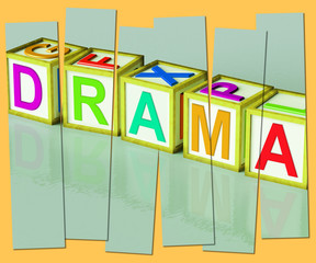 Drama Word Show Roleplay Theatre Or Production