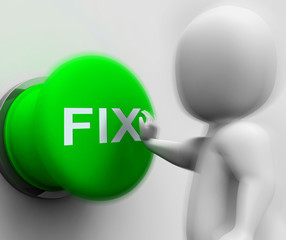 Fix Pressed Shows Repairing Faults And Maintenance